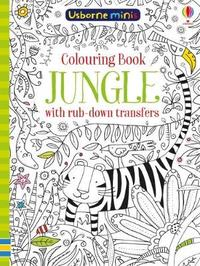 Colouring Book Jungle with Rub Down Transfers x5 by Sam Smith