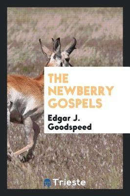The Newberry Gospels by Edgar J. Goodspeed image