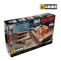 1/35 Scale King Tiger 2 In 1 Panzerkampfwagen - Scale Model