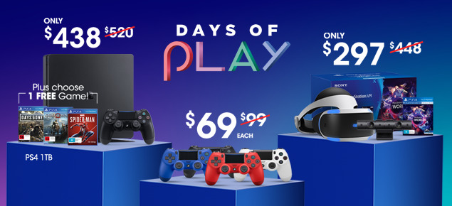 Days of Play PS4 promotion