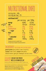 Macro Mike Protein+ - Hawaiian Salted Vanilla (1kg)