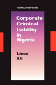 Corporate Criminal Liability in Nigeria by Linus Hussein Ali image