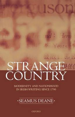 Strange Country by Seamus Deane image