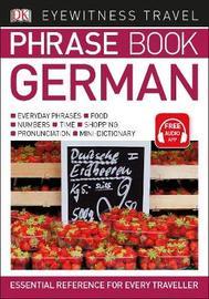 Eyewitness Travel Phrase Book German by DK