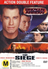 Broken Arrow / The Siege (Double Pack) on DVD image