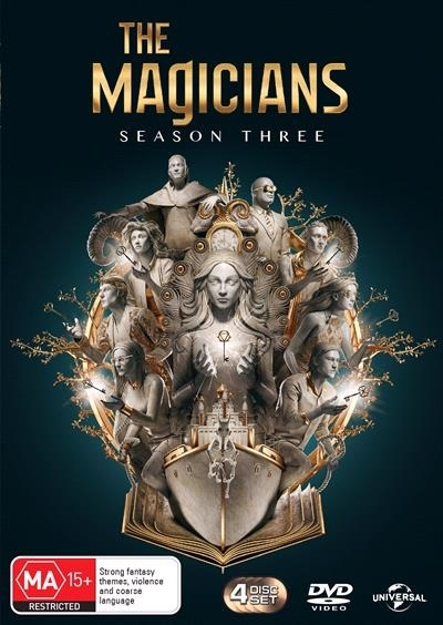 The Magicians: The Complete Third Season on DVD image