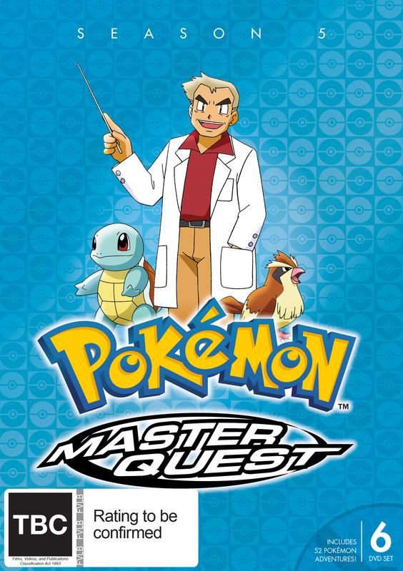 Pokemon Master Quest - Season 5 on DVD