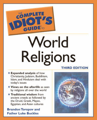 Complete Idiot's Guide to World Religions by Brandon Toropov image