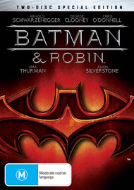 Batman and Robin - Special Edition on DVD image
