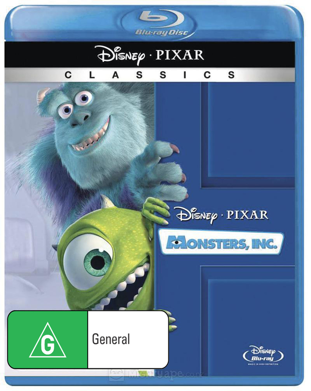 Monsters, Inc on Blu-ray