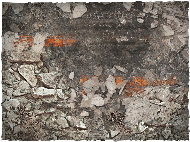 DeepCut Studio Urban Ruins Neoprene Mat (6x4) image