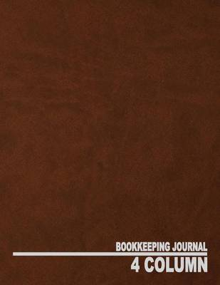 4 Column Bookkeeping Journal by Ij Publishing LLC image