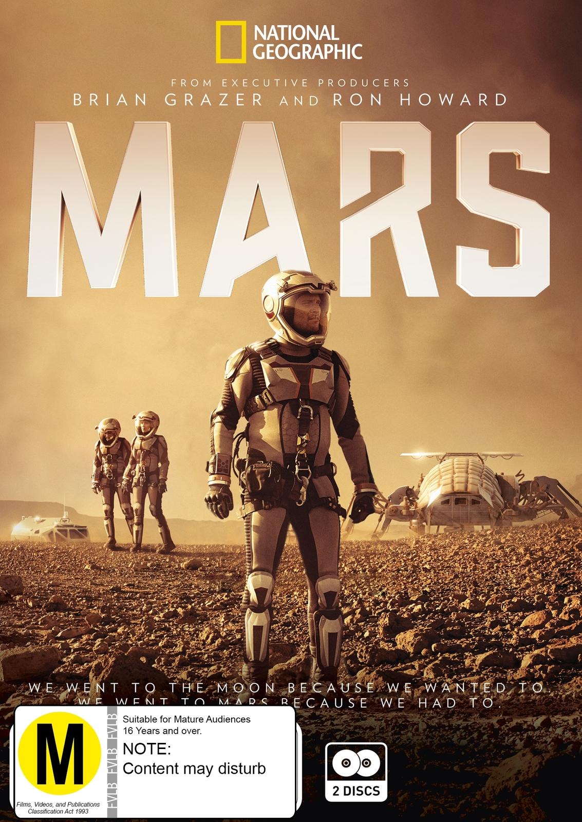 Mars on DVD image