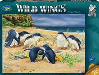 Holdson: 1000 Piece Puzzle Wild Wings Penguin Parade