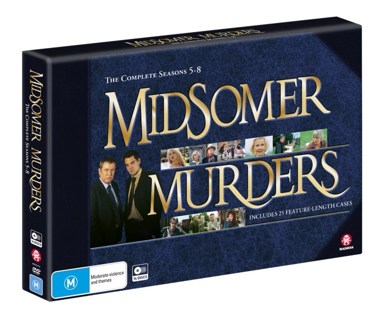 Midsomer Murders: Season 5 - 8 Collection (Limited Edition) on DVD image