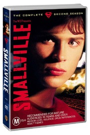 Smallville - The Complete 2nd Season  (6 Disc Set) on DVD image