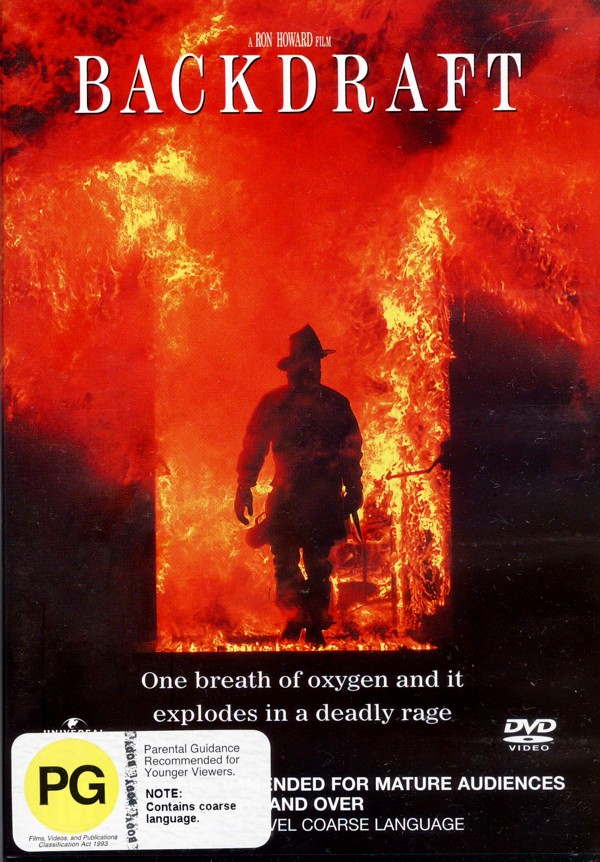 BackDraft on DVD image