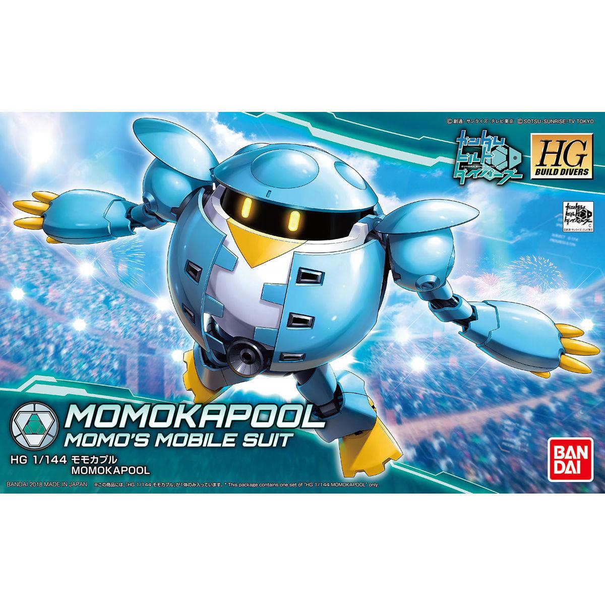 HGBD 1/144 Momokapool - Model kit image