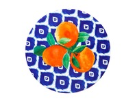 Maxwell & Williams: Positano Ceramic Round Tile Trivet - Arancia (20cm)