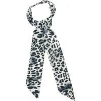 Leopard Print Hair Tie - Black image