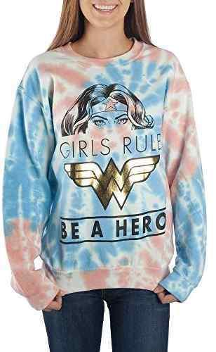 DC Comics: Wonder Woman (Tie Dye) - Long Sleeve Shirt (Large)