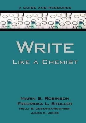 Write Like a Chemist by Marin S Robinson image