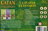 Cities & Knights of Catan expansion : 5-6 player image
