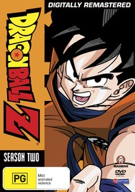 Dragon Ball Z - Season 2 on DVD