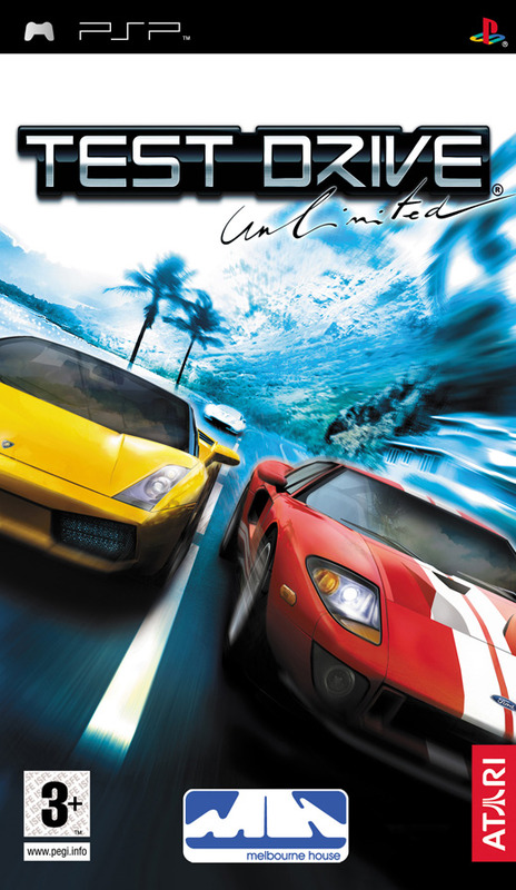 Test Drive Unlimited for PSP