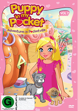 Puppy in My Pocket: Volume 7 on DVD