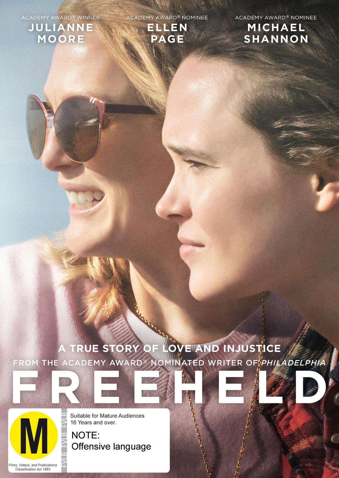Freeheld on DVD image