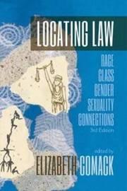 Locating Law: 3 by Elizabeth Comack
