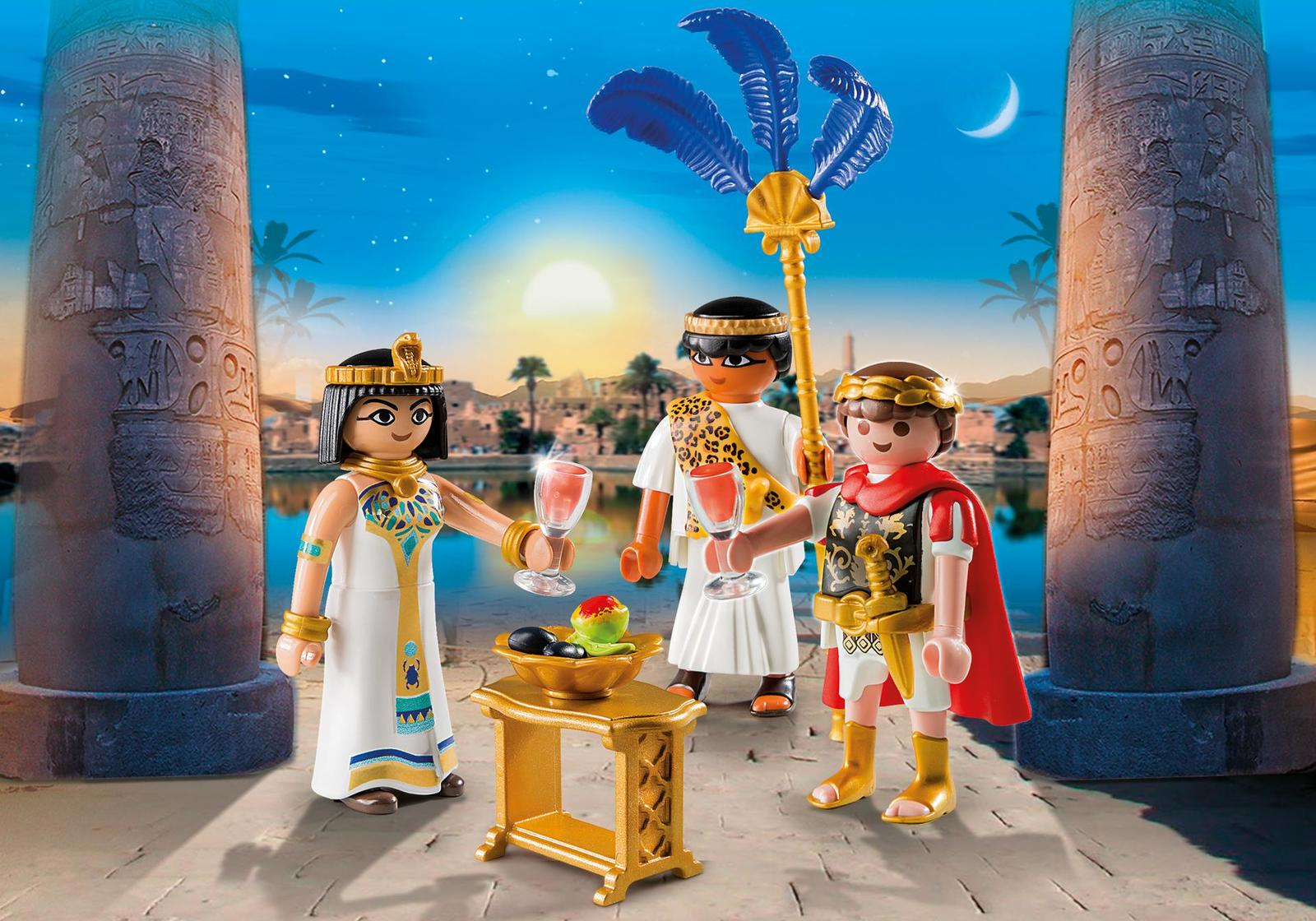 Playmobil: history - Caesar and Cleopatra image