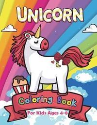 Unicorn Coloring Book for Kids Ages 4-8 by V Art