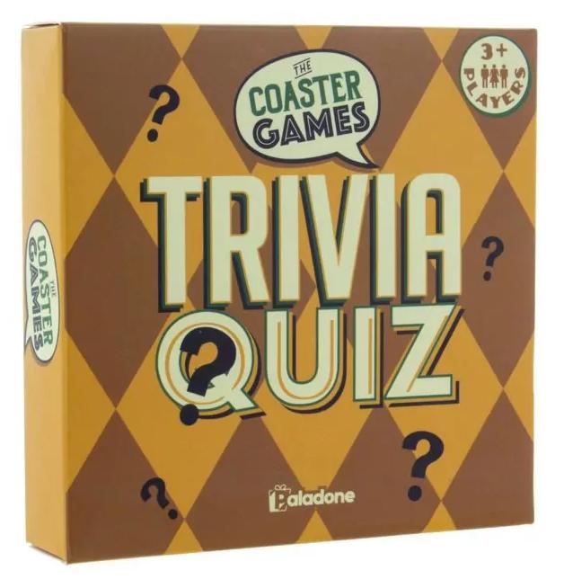 Paladone: Coaster Games - Trivia Quiz