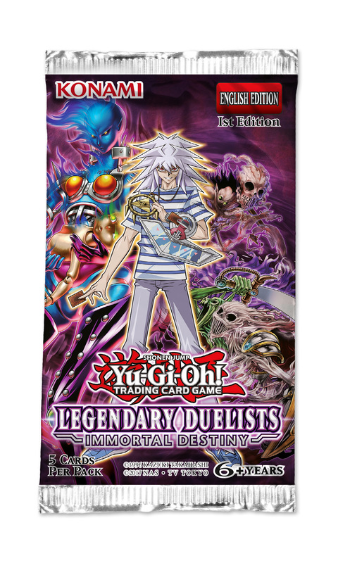 Yu-Gi-Oh! Legendary Duelists: Immortal Destiny Single Booster (5 Cards)
