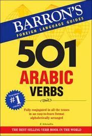 501 Arabic Verbs by Raymond P Scheindlin image