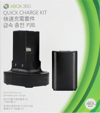 Xbox 360 Quick Charge Kit for X360