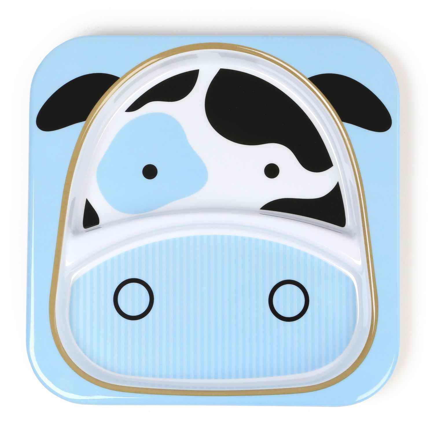 Skip Hop: Zoo Divided Plate - Cow image