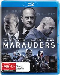 Marauders on Blu-ray
