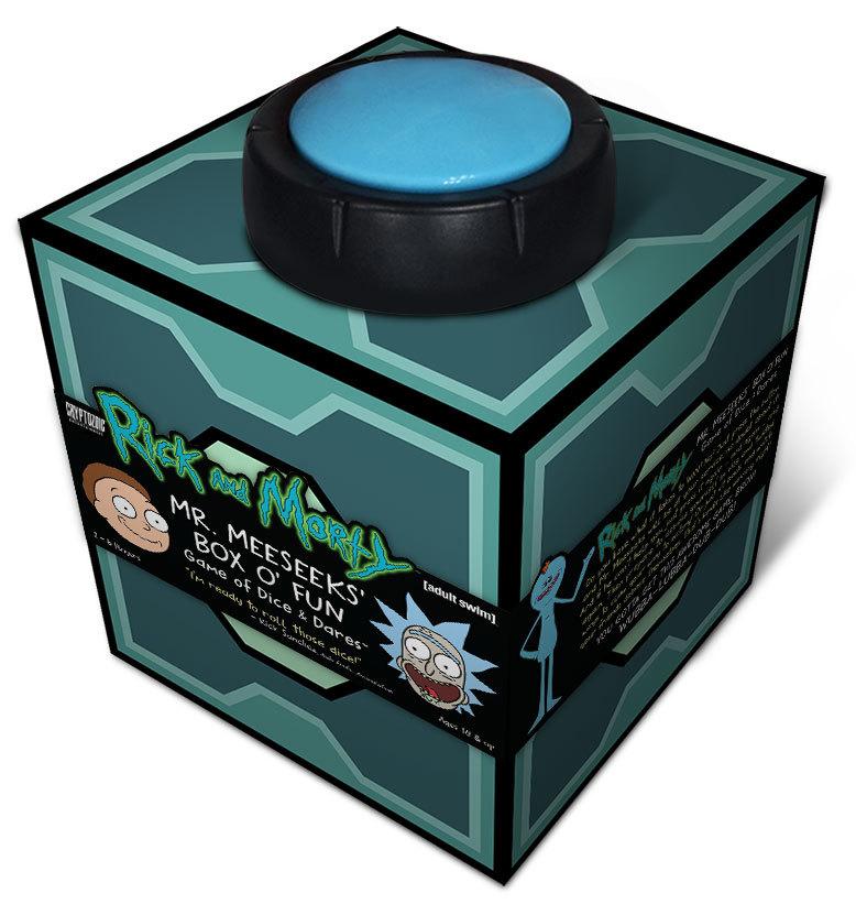Rick & Morty: Mr. Meeseeks' Box O'Fun - Dice & Dares Game image