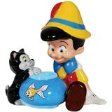 Disney - Pinocchio & Figaro Salt and Pepper Shakers