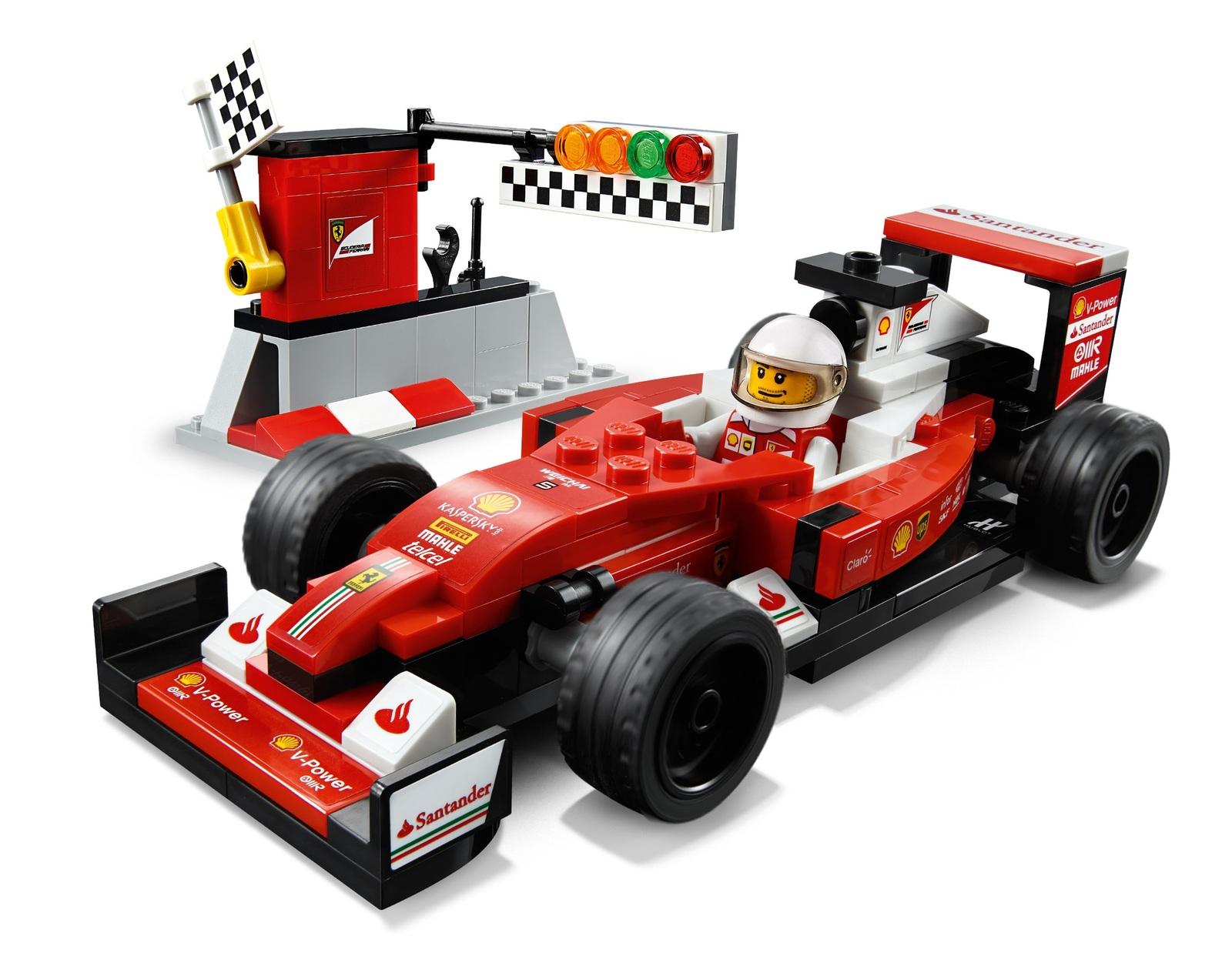 LEGO Speed Champions - Scuderia Ferrari SF16-H (75879) image