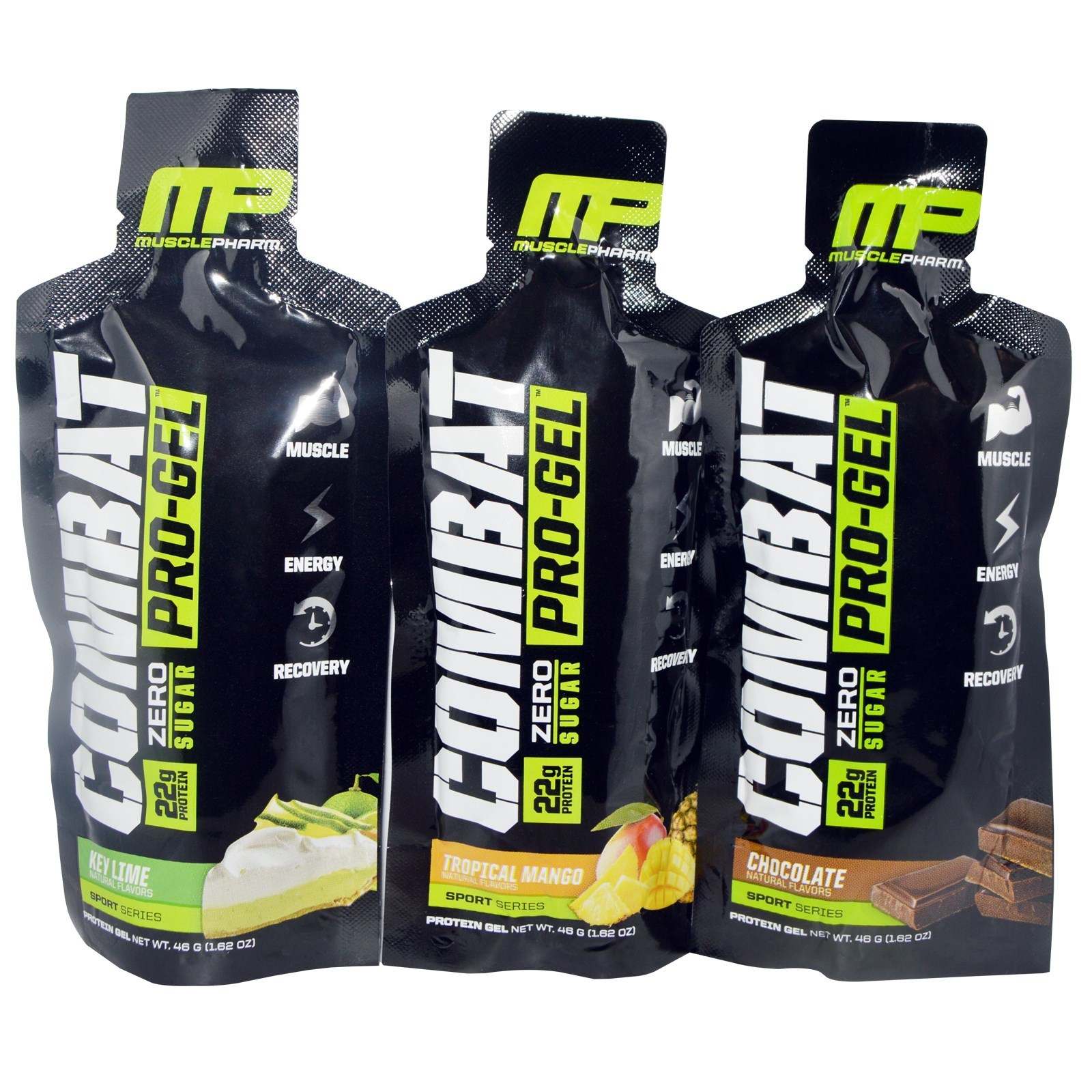 MusclePharm Combat Pro-Gel MuscleGel - Sample Pack (3x46g) image