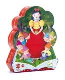 Djeco: Snow White Silhouette - 50pc Puzzle
