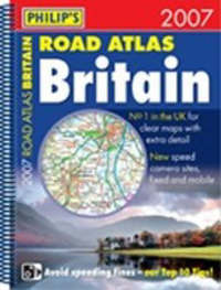 Philip's Road Atlas Britain 2007 A3