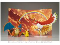 Pokemon Plamo Collection: Ho-Oh, Charizard & Ash's Pikachu Set image