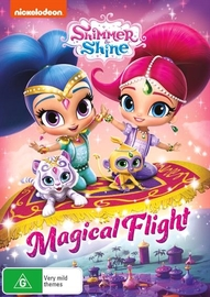 Shimmer & Shine: Magical Flight on DVD image