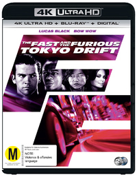 The Fast & The Furious 3: Tokyo Drift on UHD Blu-ray