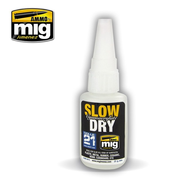 Ammo of Mig Jimenez: Slow Dry Cyanoacrylate Glue